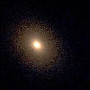 La galaxie elliptique NGC 4365Crédit : www.astro.princeton.edu