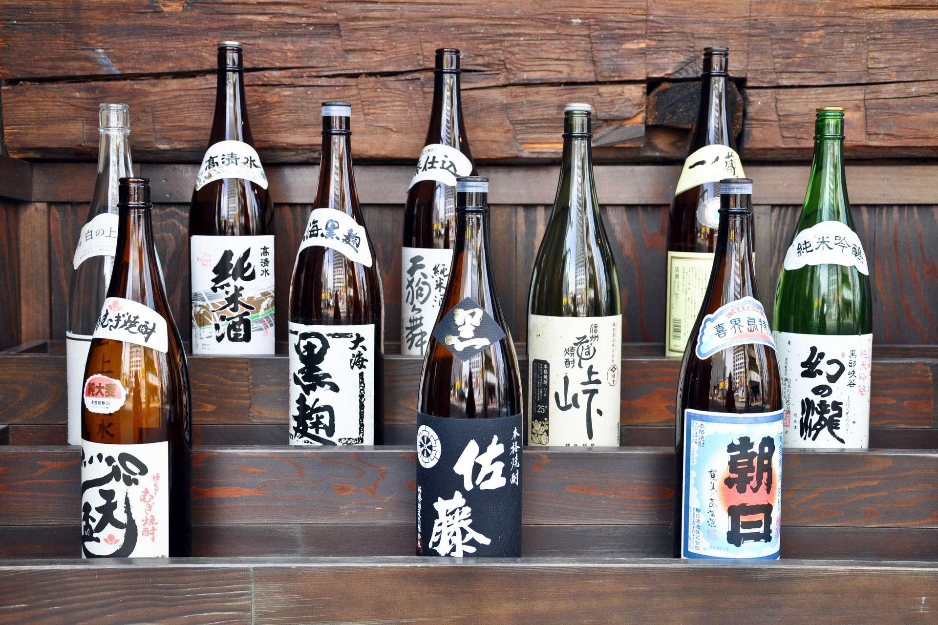 Le saké est un alcool de riz, titrant généralement entre 14 et 17 degrés. © Delphotostock, Adobe Stock
