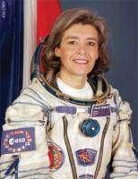 Claudie Haigneré sera la première européenne à bord de l'ISS