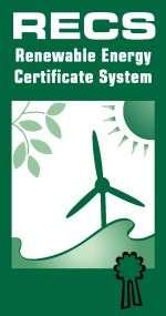Les certificats d'électricité d'origine renouvelable sont un moyen de tracer l'origine de l'électricité et de valoriser les énergies renouvelables. © RECS