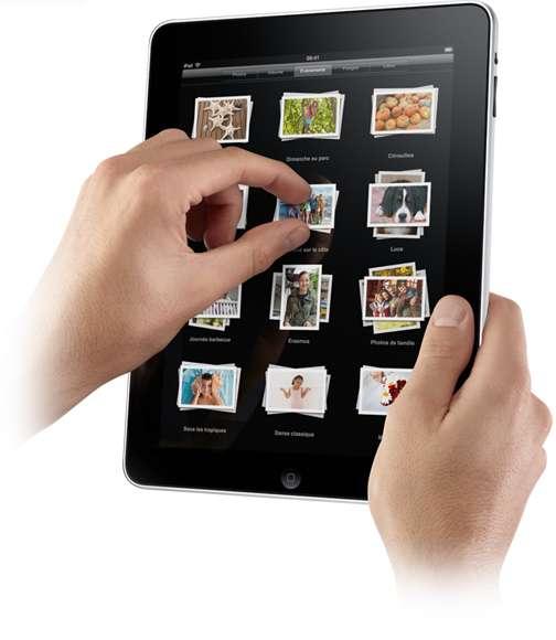 L'Ipad, un objet convoité. © Apple