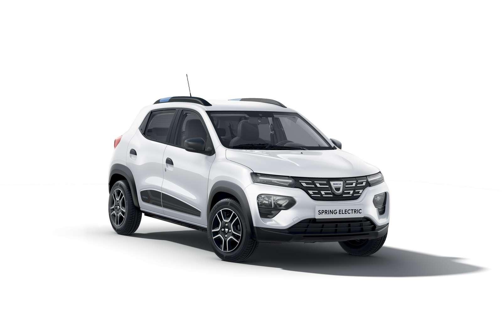 La Dacia Spring, est le premier modèle 100% électrique de la marque. © Renault