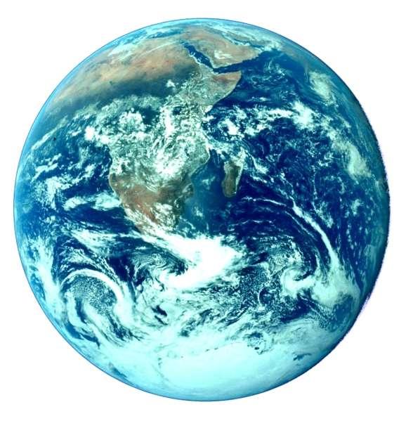 La lutte contre le réchauffement climatique doit être une action menée par l'ensemble de la communauté internationale. © Nasa, 1972
