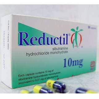 La sibutramide, Sibutral de son nom commercial, est vendu en Europe sous les marques Reductil, Reduxade et Zelium. © Abott