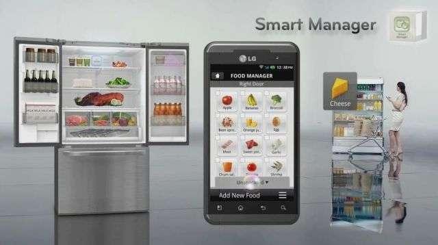Le système Smart Manager de LG, présenté au CES 2012. © LG