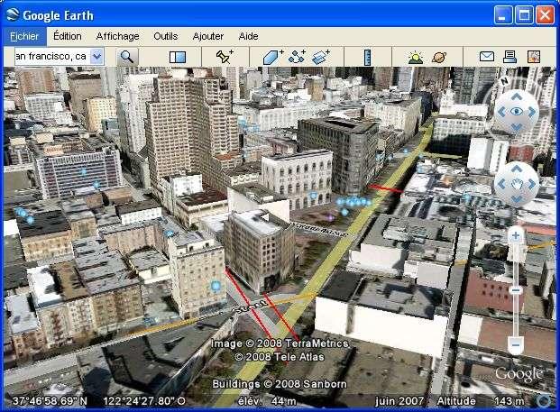 Google Earth, dans toute sa superbe !