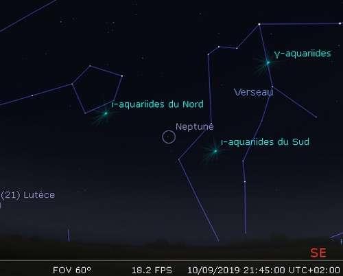 La planète Neptune est en opposition