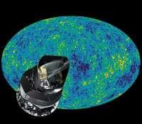 Le rayonnement fossile : clé pour la cosmologie. © CMB-Esa