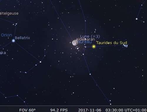 La Lune occulte Aldébaran