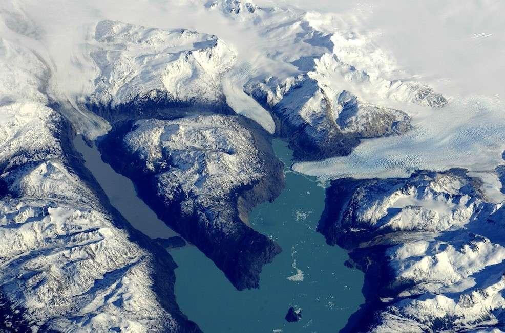 Glaciers en Patagonie. © Fyodor Yurchikhin/Russian Space Agency Press Services
