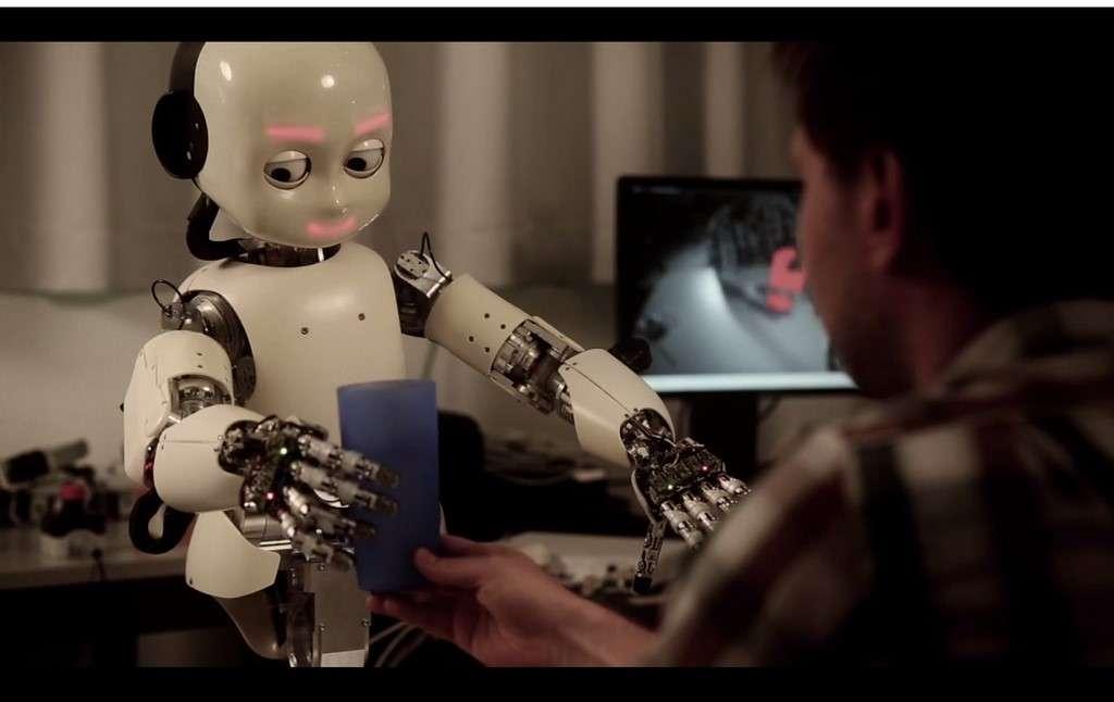 Pour Microsoft, le perfectionnement de l'intelligence artificielle des robots ne passe plus seulement par des algorithmes plus performants, mais aussi par la création d'outils d'enseignement de l'apprentissage automatique qui soient accessibles à un public de non-spécialiste. © Dalle Molle Institute for Artificial Intelligence Research, CC BY-SA 3.0