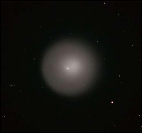 Gros plan sur la comète... par Vincent Becker