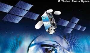 Le satellite W3B s'est perdu. Mais où est-il actuellement ? © Thales Alenia Space