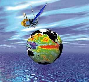 C'est à Topex-Poséidon que nous devons les premières étude du phénomène El Niño/La Niña
