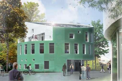 Le nouveau bâtiment de la Faculté des Sciences de Copenhague. © Christensen & CO Arketekter A/S