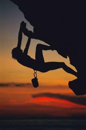 Les acrophobes ne peuvent pas pratiquer l'escalade. © Phovoir