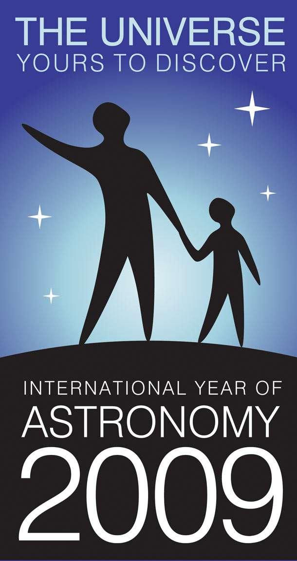 Un logo pour une année d'astronomie mondiale. © AMA09