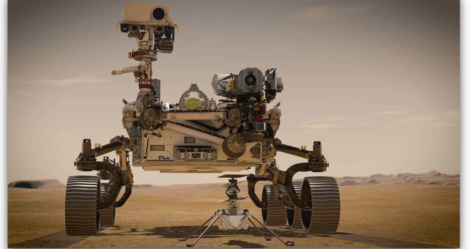 Pour accompagner l'événement du lancement de son dernier rover martien, la Nasa met en ligne un photomaton qui vous plonge dans l'ambiance. © JPL-Caltech, Nasa