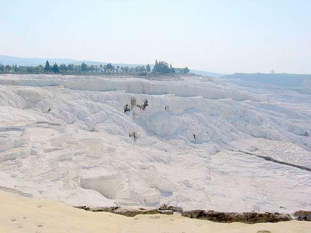 La solution idéale pour stocker le CO2 serait de le convertir en calcaire... © Janet CC by-nc 3.0