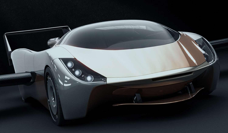 La voiture volante AirCar. © Klein Vision