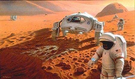 Base martienne