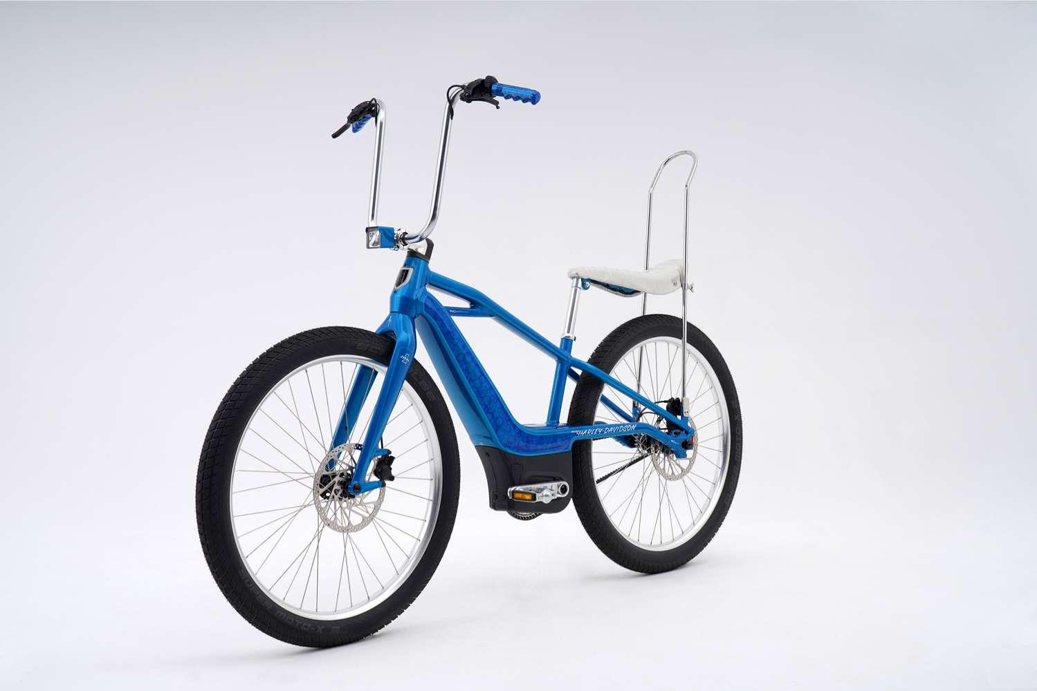 Le Mosh/Chopper est un vélo électrique produit à un seul exemplaire. © Serial 1