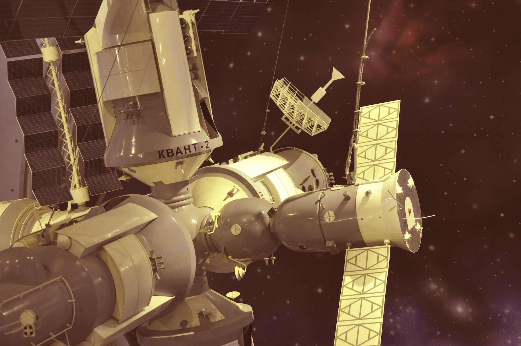 La station spatiale soviétique MIR a été désorbitée avec succès le 23 mars 2001. © Александр Байдук, Adobe Stock
