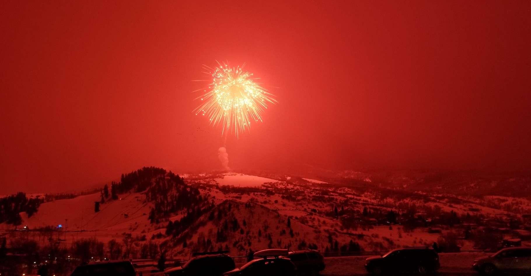 C'est à Steamboat Springs, dans le Colorado (États-Unis), que le record de la plus grosse pièce de feu d'artifice a été battu ce samedi. © Steamboat Fireworks