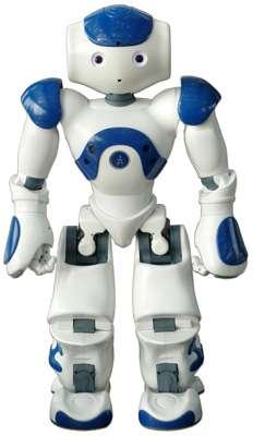 Nao est le robot créé par la société française Aldebaran Robotics. Nao n'a rien à envier à ses concurrents japonais ou américains. © J.-C. Heudin