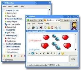 Faille de sécurité dans le module MSN Messenger de Trillian