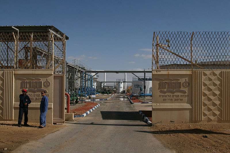 L'usine de dessalement de Nitzana, en Israël, exploite le procédé de l'osmose inverse. © Reli Jouan, Wikimedia Commons, cc by 3.0