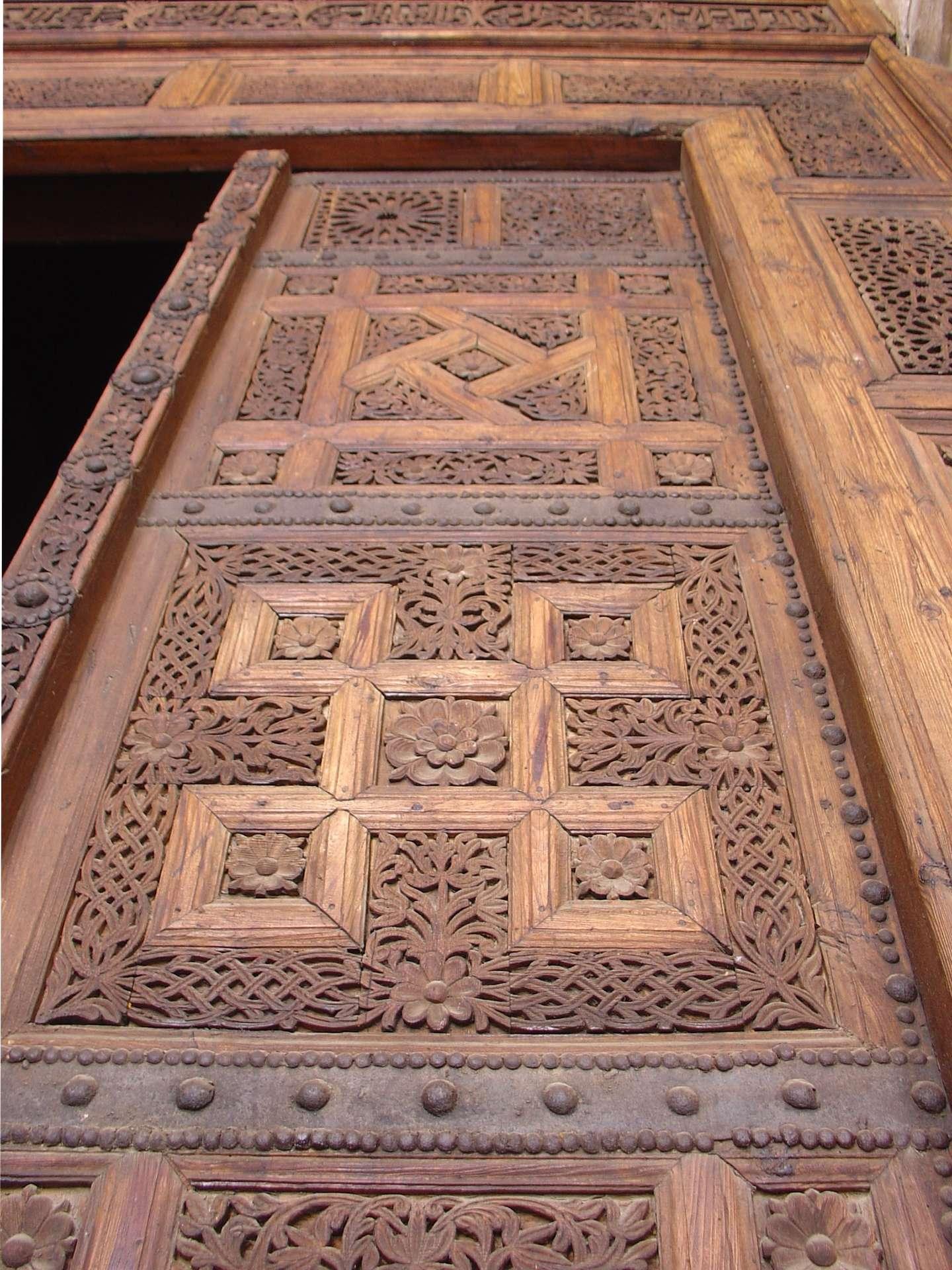 Le ventail forme les battants d'une porte ou d'une fenêtre. © ovancantfort, CC BY-SA 2.0, Wikimedia Commons