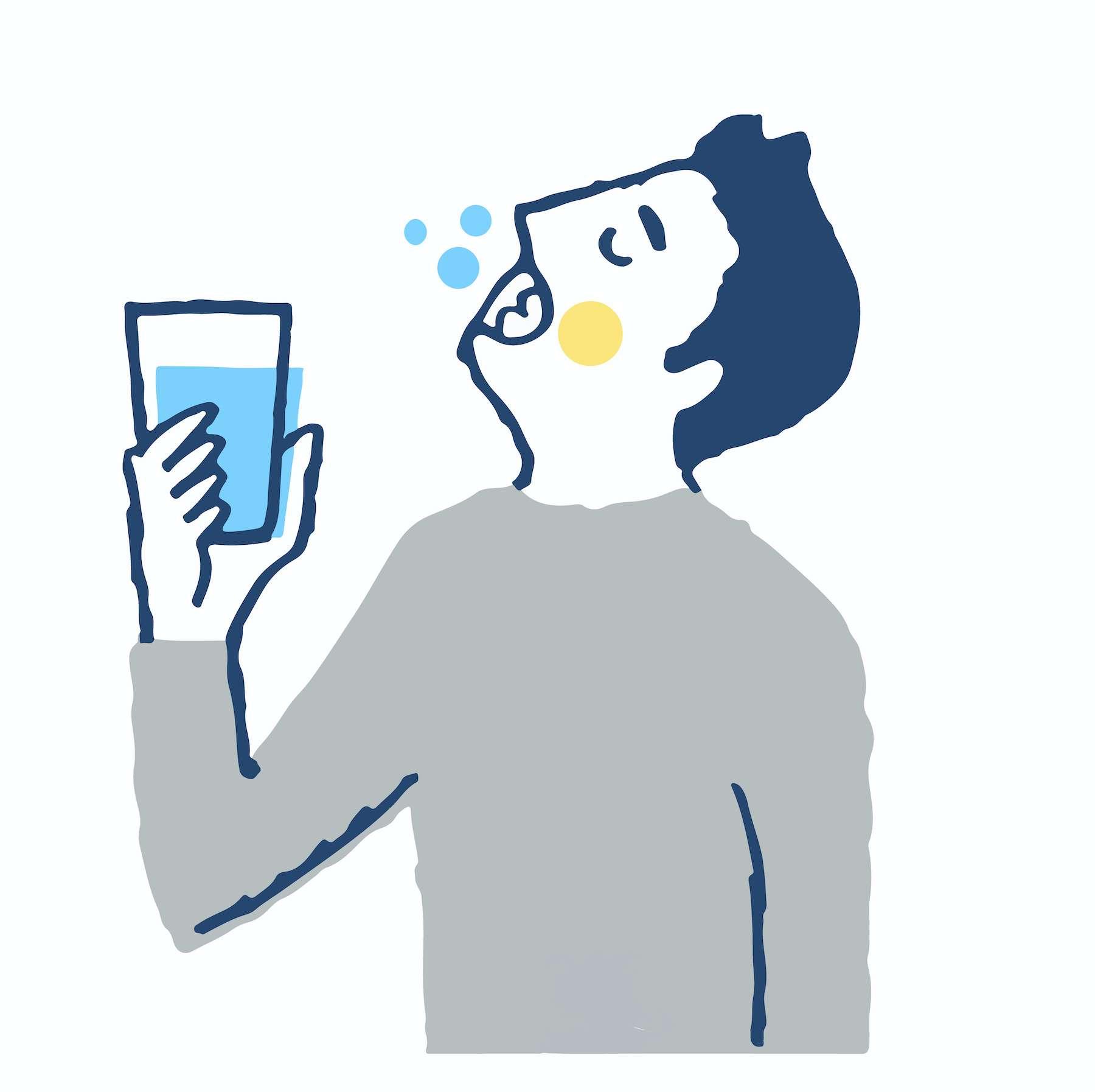 Le test Covid par gargarisme, plus rapide et moins cher que le test nasopharyngé. © hisa-nishiya, Adobe Stock