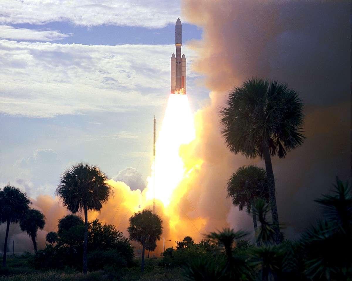C'est peut-être l'étage supérieur de la fusée américaine Titan (utilisée en 1975 pour envoyer sur Mars les sondes Viking) qui porte désormais le nom de 2010 KQ. Crédit Nasa