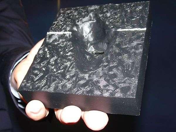 Le modèle en 3D obtenu par la NASA.