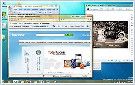 Windows 7 selon le site de Microsoft. Crédit Microsoft