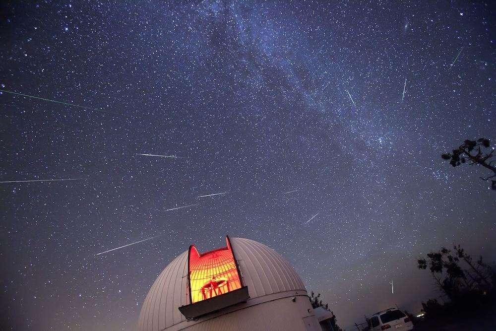 Le 8 octobre prochain, nous assisterons peut-être à une pluie d'étoiles filantes. © D.-A. Harvey