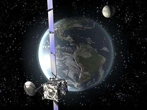 L'astéroïde européen Rosetta... Crédit Esa