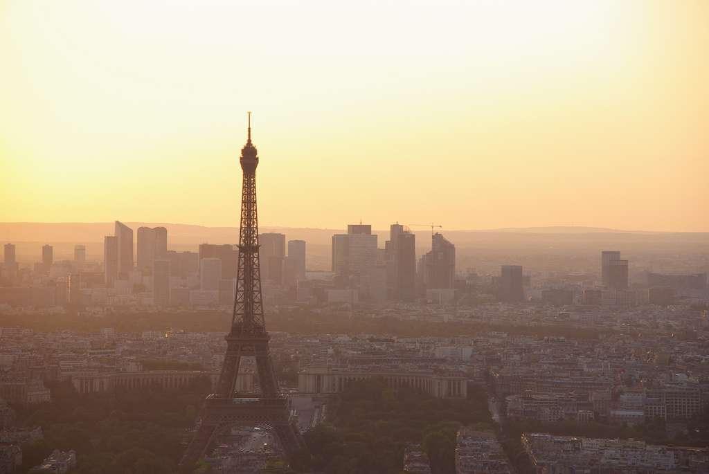 Actuellement, l'indice de pollution de l'air de Paris est faible. Les principaux polluants sont l'ozone et les particules fines PM10. © louisvolant, Flickr, cc by nc sa 2.0