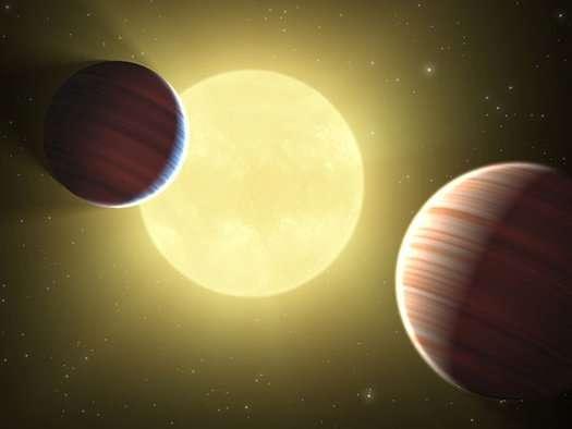 Les exoplanètes découvertes sont situées, pour les plus proches, à quelques années-lumière de la Terre. Elles renferment encore de nombreux mystères... Mais certains de leurs secrets ont déjà été percés ! © Nasa, JPL-Caltech, Ames