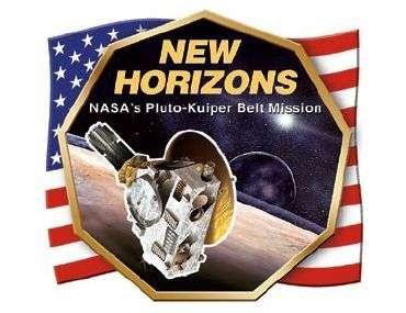 Logo de la mission New Horizons.