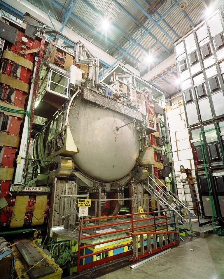 Une vue du détecteur D0 équipant le Tevatron. © Wikipédia, domaine public