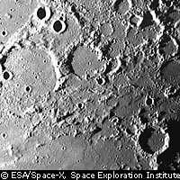 Les cratères lunaires