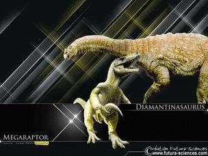 Futura-Sciences fait revivre les dinosaures ... sur votre écran ! © DR