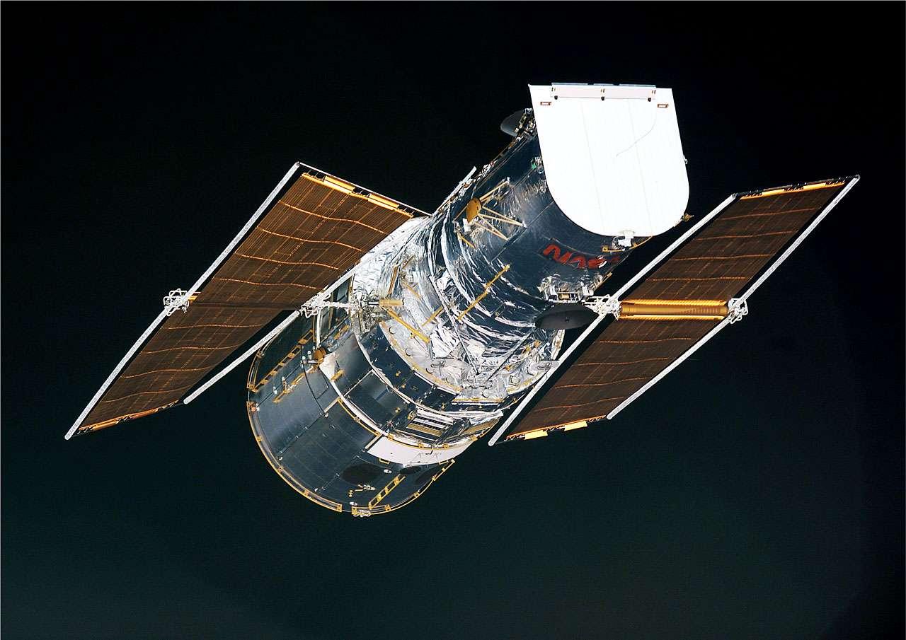 Une image du télescope Hubble. Crédit : Nasa-Esa