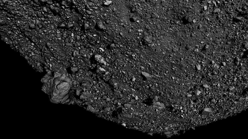 Admirez l'astéroïde Bennu en 3D