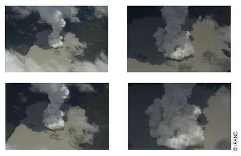 Vanuatu : éruption spectaculaire du mont Manaro en images