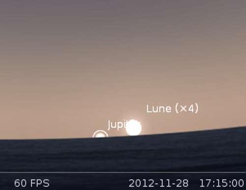 Éclipse partielle de Lune par la pénombre