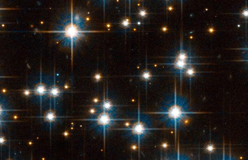 Figure 4. Zoom de Hubble sur NGC 6791. Crédit : Nasa-Esa, L. Bedin