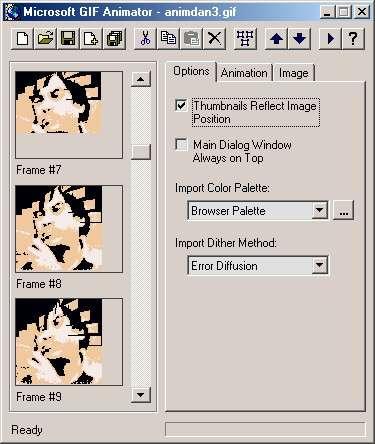 Fabriquer ses propres GIFs animés. © Futura-Techno